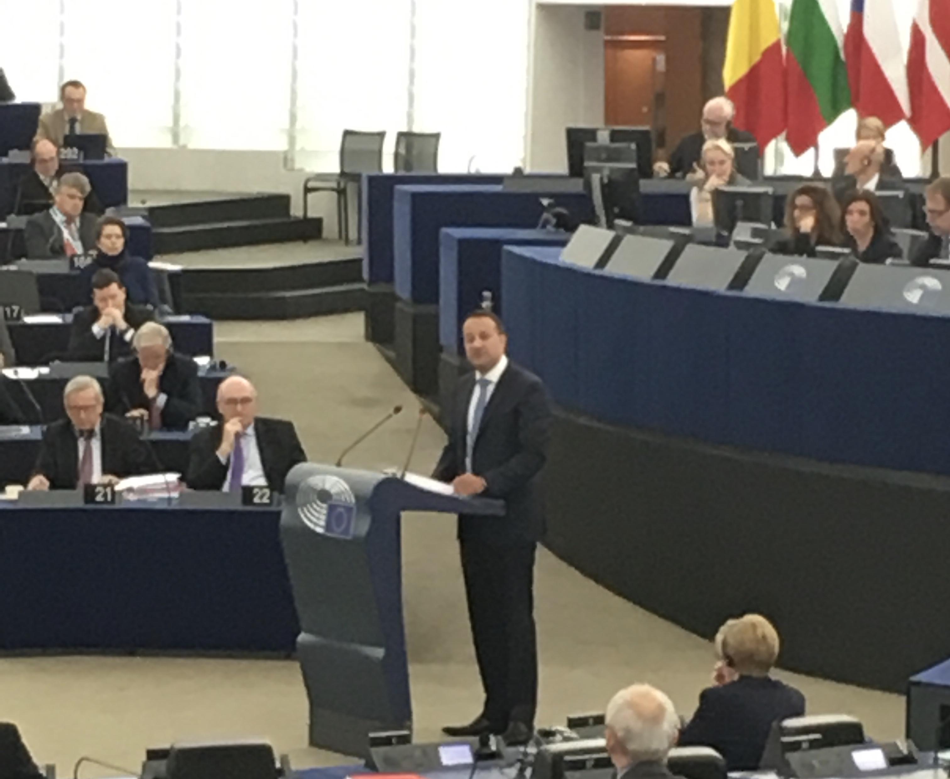 The Taoiseach, the Parliament and the Irish Border