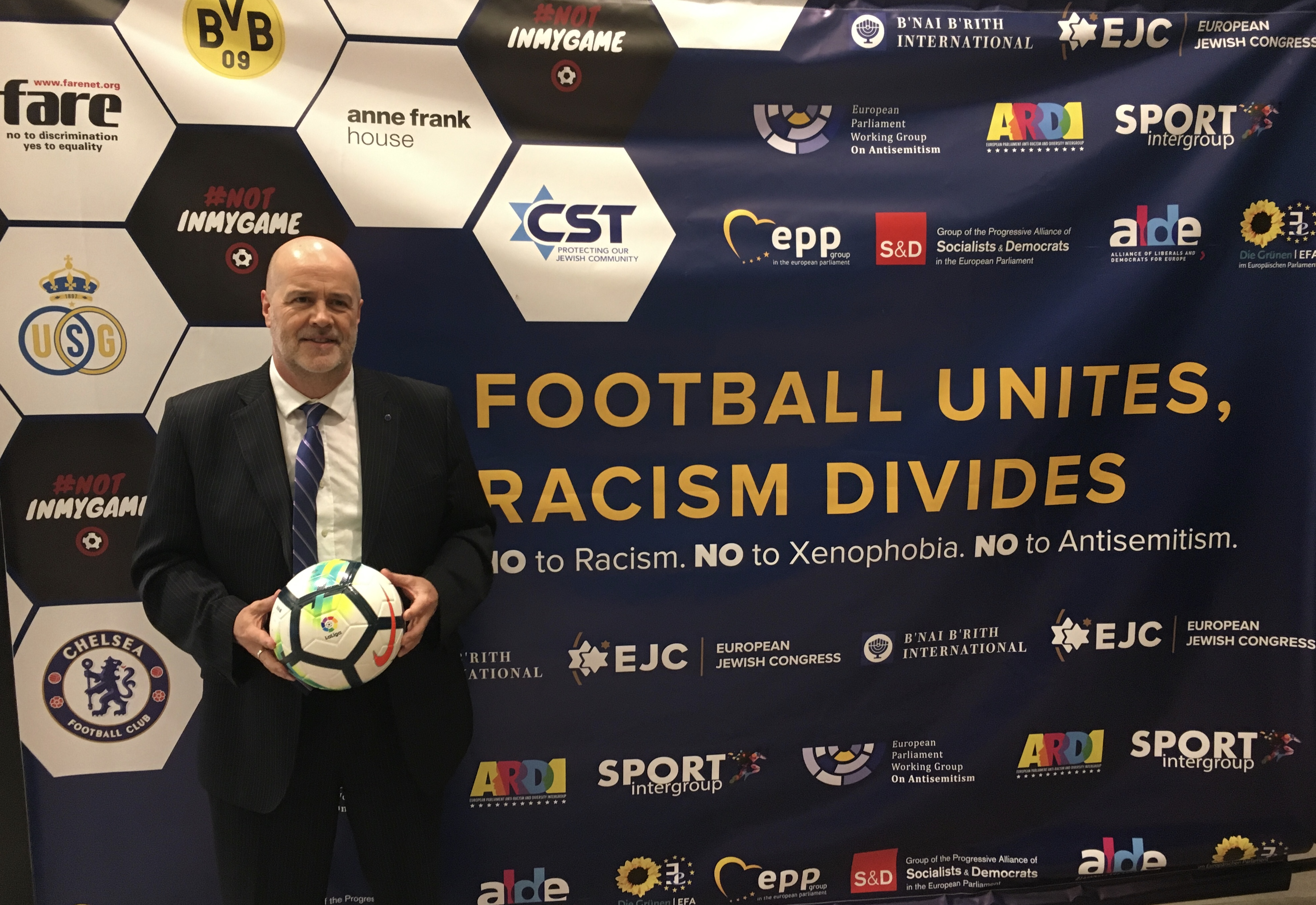 Football Unites, Racism Divides #notinmygame