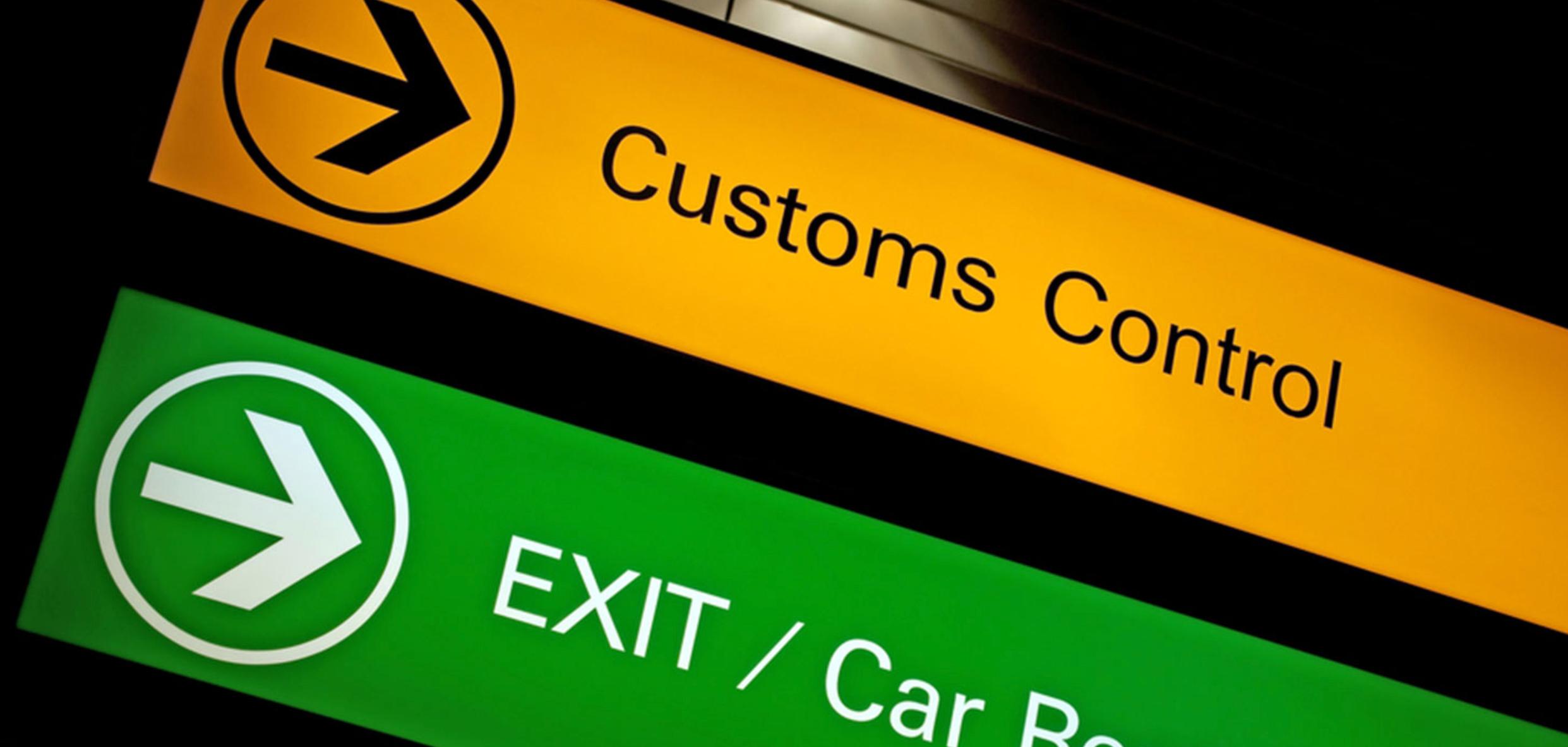Complete customs fudge up
