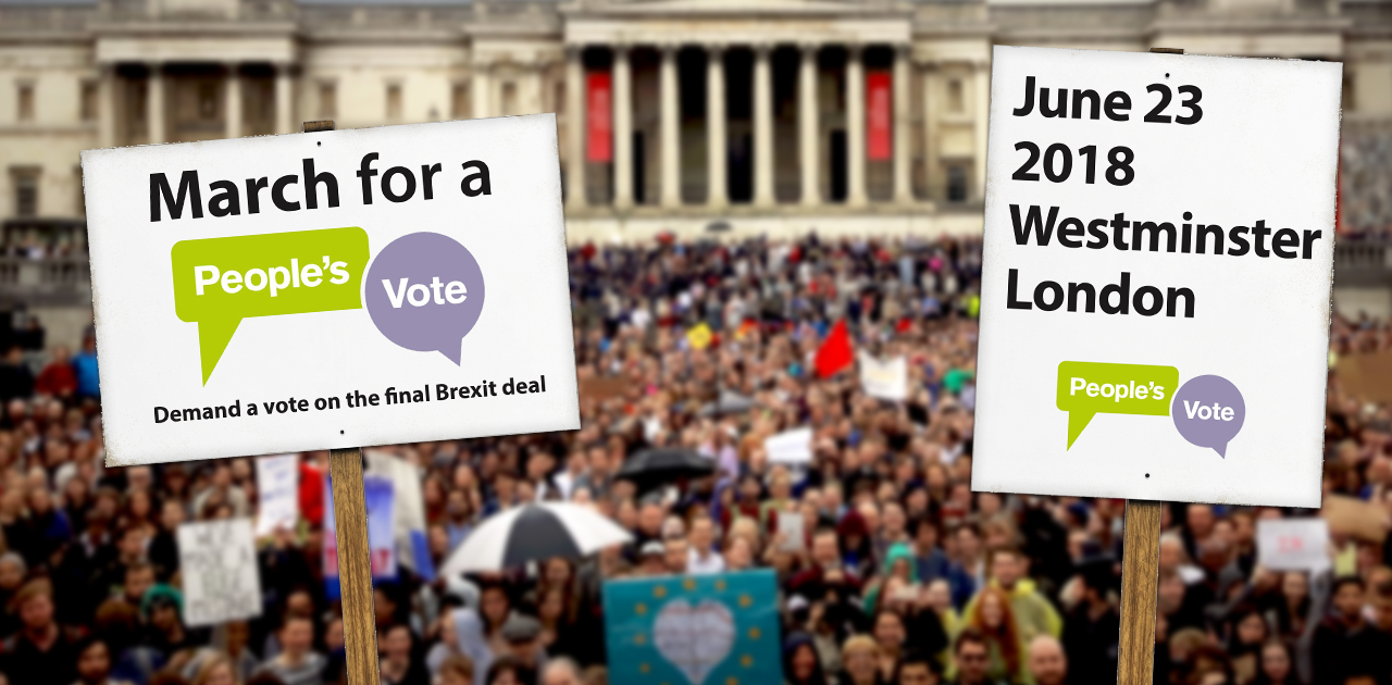 Why I'm backing the march for a People's Vote