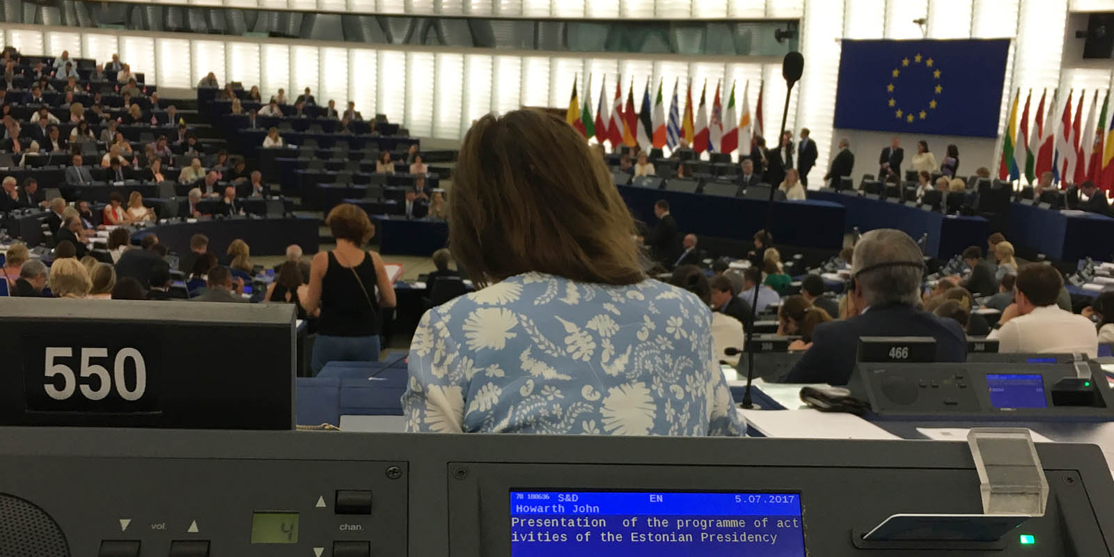 Strasbourg Session –  6 June 2017