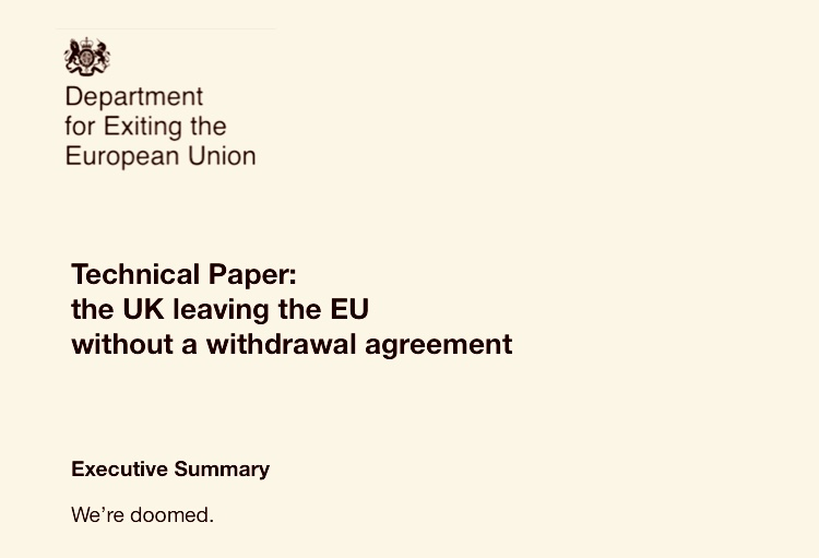 No deal Brexit is the worse deal of all – official