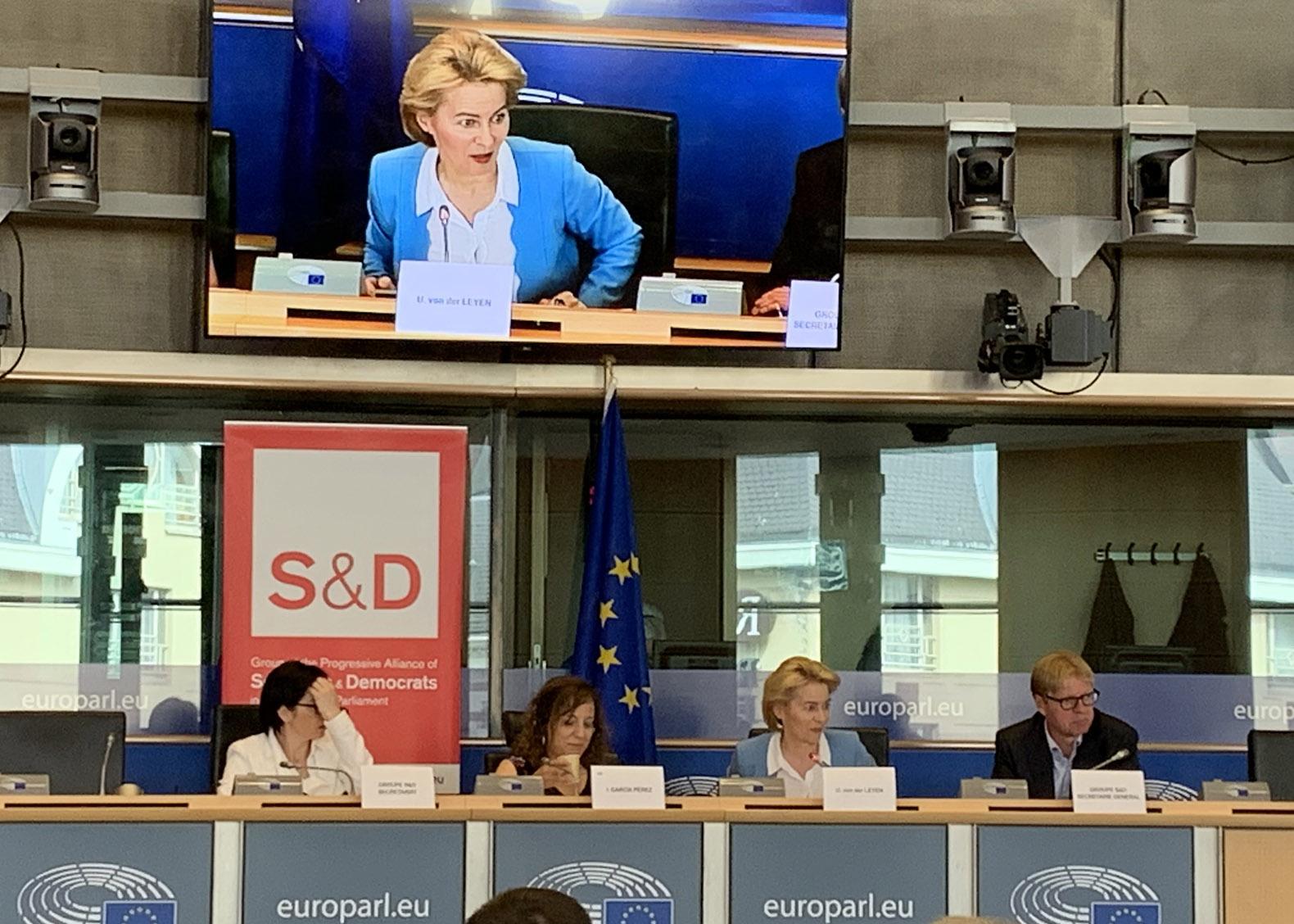 Von der Leyen and EU Democracy